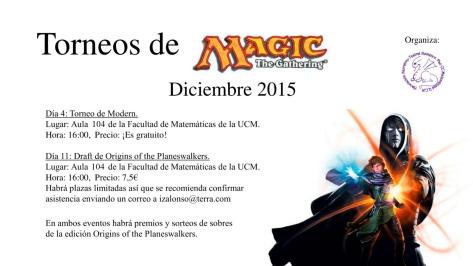 Magic diciembre 2015